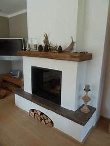 Kamin Neu Verkleiden : der halbrunde kamineinsatz ist von spartherm der sockel kann als sitzgelegenheit genutzt werden ~ Markanthonyermac.com Haus und Dekorationen