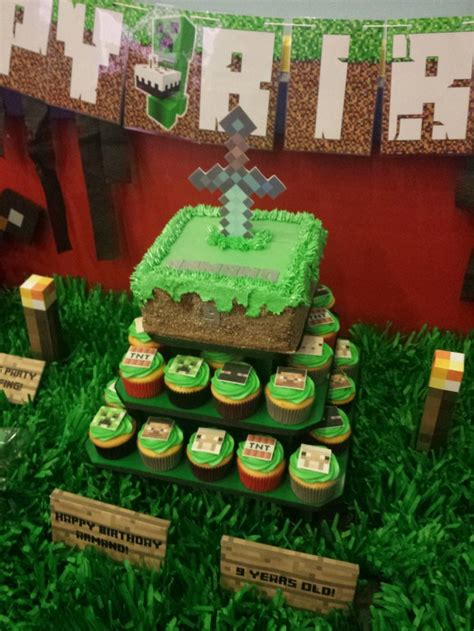 12 amazing minecraft birthday cakes catch my