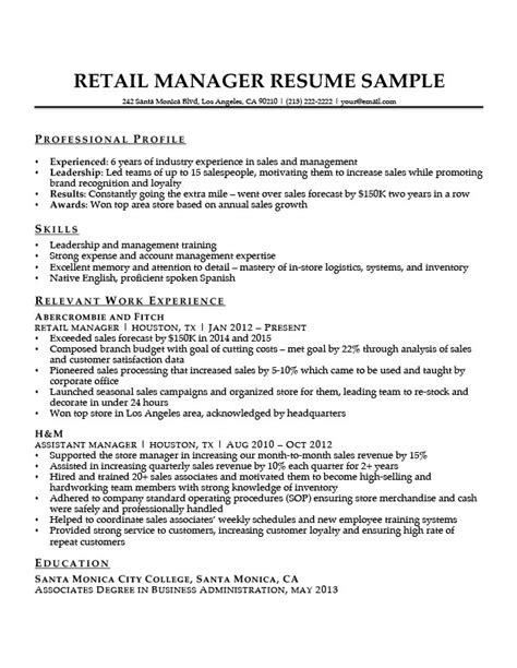 Retail Manager Resume Sample & Writing Tips  Resume Companion. Entry Level Mechanical Engineering Resume Sample. Sharepoint Resume Sample. Maintenance Planner Resume Sample. Sample Interest In Resume. Fill Out Resume Online. Resume In Pdf Format. Resume Dates Format. A Perfect Resume Format