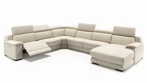 Sofa U Form Grau : modernes sofa in u form mit relaxfunktion sofanella ~ Markanthonyermac.com Haus und Dekorationen