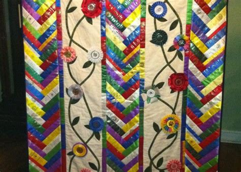 47 Best My Sew Creations Ribbon Quilts & Projects Images On Pinterest Heated Concrete Blankets Shire Horse Kaowool Blanket Price Plate Warmer Best Swaddling Electric In Pregnancy Tied Fringe Fleece Knit Patterns For
