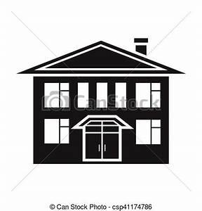 Icon Haus Preise : geb ude stil illustration haus symbol freigestellt vektor suche clipart ~ Markanthonyermac.com Haus und Dekorationen