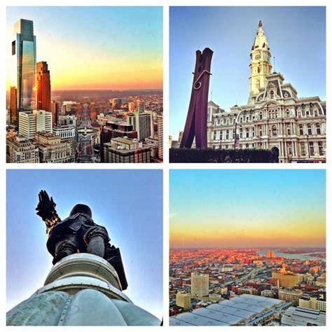 skyline spotting philadelphia city tower observation deck