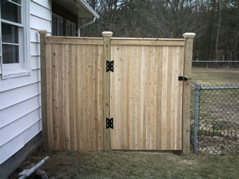 Fence - Gate : Building A Fence Gate Wood » Fencing