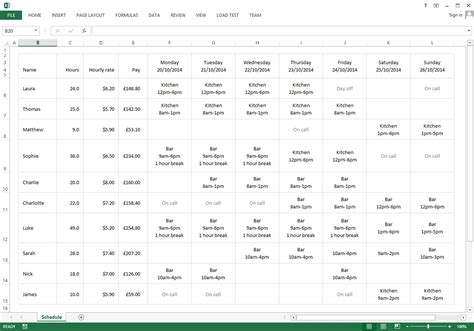 employee roster template retail free excel template for your staff roster 183 findmyshift