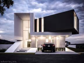 awesome modern architectural exterior home design exle of stacked floor cayman