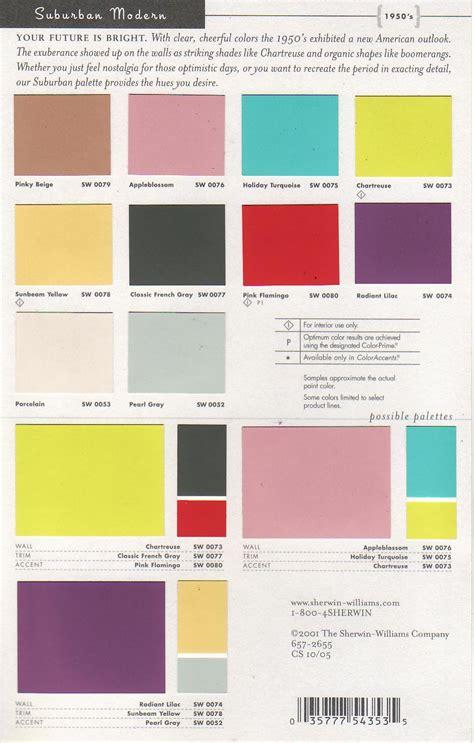 Mid Century Modern Interior Colors  Sherwin Williams