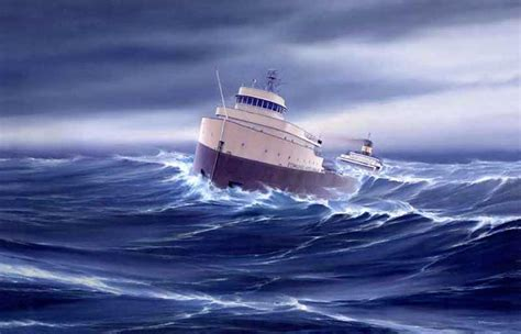 Sinking Of The Ss Edmund Fitzgerald by Ancestor Envy Curbow Montoya Family