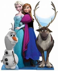 Frozen Official Anna Elsa Olaf Kristoff Disney 2D Card ...