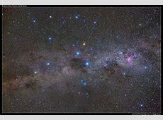 Southern Sky Southern Cross, Pointers and Eta Carina