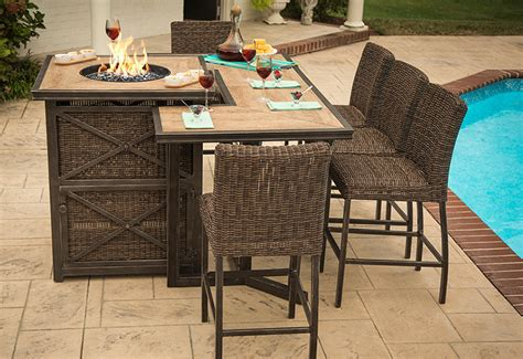pit dining table wine barrel pits u firetable store with interesting castle rock