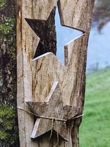 Holz Künstlich Alt Machen : holz deko f r den garten weihnachtsdeko holz pinterest dekoration sterne und garten ~ Markanthonyermac.com Haus und Dekorationen