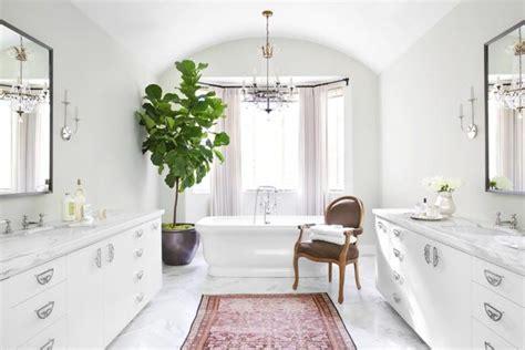 inspiration d 233 co des plantes vertes dans la salle de bain cocon de d 233 coration le