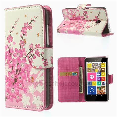 housse etui coque pochette portefeuille pu cuir pour nokia lumia 630 635 ebay