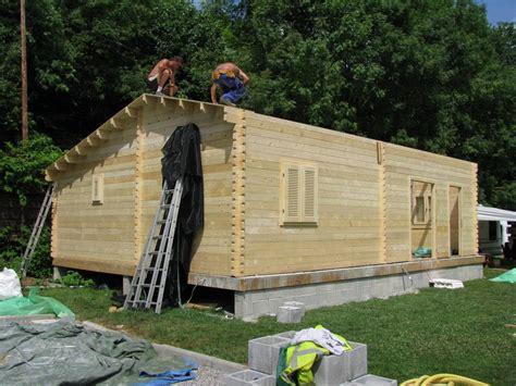 maison bois de 70m2 en bois en kit