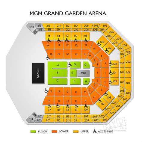 mgm grand hotel seating chart seats