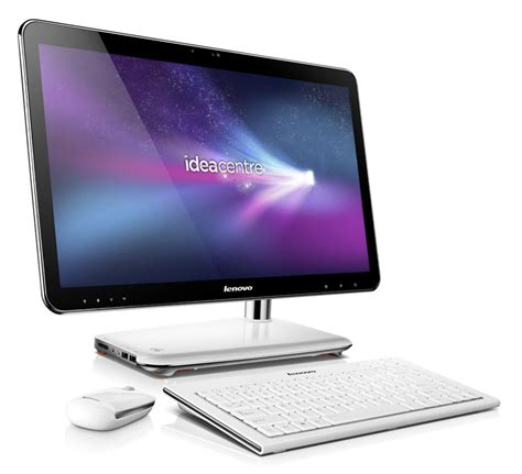 high tech lenovo ideacentre a310 un ordinateur de bureau tout en un design alliance le