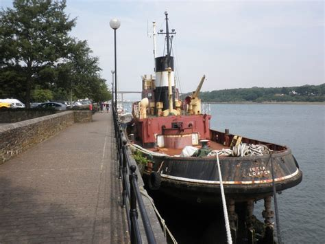 Small Boats For Sale North Devon by Old Thames Tug Boat At Bideford 169 Roger Cornfoot