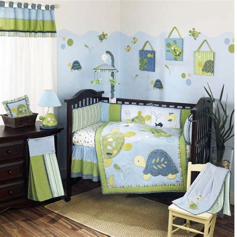 Turtle Toddler Bedding by Baby Bedding Turtle Reef Baby Crib Bedding Set By Cocalo