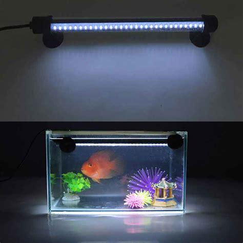 led aquarium light fish tank l fishbowl lighting waterproof with controller