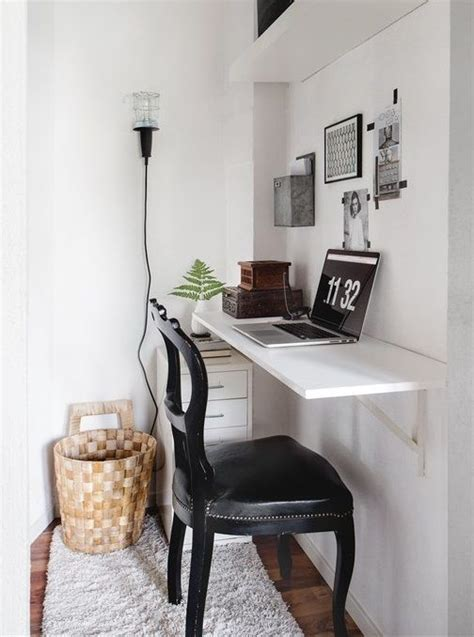 Tiny Desk by 35 Space Saving Wall Mounted Furniture And Decor Ideas