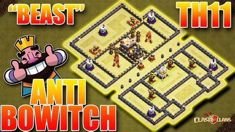 """""""bowitch Enemy"""" Th11 War Base Anti 2 Star With Proof Youtube"""