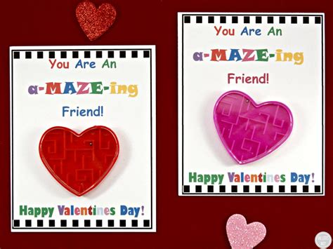 Diy Valentine's Day Cards For Kids With Free Printable