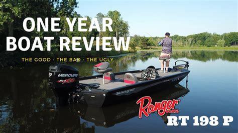 Ranger Aluminum Boats Youtube by Ranger Aluminum Boats Rt 198 P One Year Boat Review Youtube
