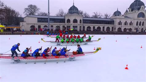 Dragon Boat Youtube by International Ice Dragon Boat Series Hungary Youtube
