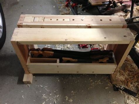 Split Top Saw Bench #6 Finishing Up  By Terrydowning