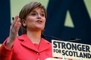 'This election is not about independence': Nicola Sturgeon ...