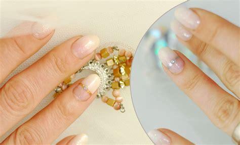 The Perfect Bridal Wedding Nails!