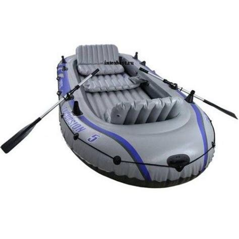 Inflatable Boats Qatar by Intex Excursion 5 68325 Inflatable Raft Set Gray Price
