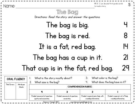 Introducing Kindergarten Fluency  Mrs Russell's Room
