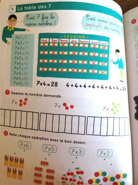 connaitre par coeur ses tables de multiplication d 232 s 7 ans