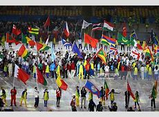 These Caribbean Athletes Carried Their Nation's Flag Into