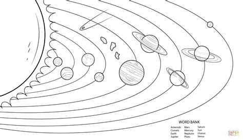 Coloringpages Free Printable Solar System Coloring Pages For Kids
