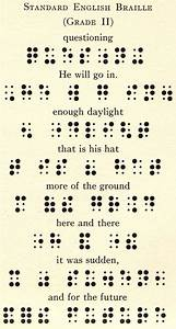 Old pages of Standard English Braille. very cryptic and ...