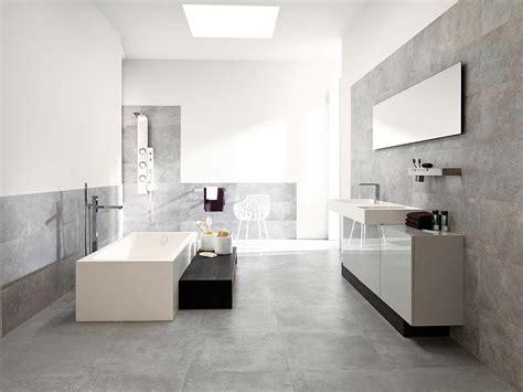 simple modern bathroom with porcelanosa s beautiful grey ceramic tiles floor tiles ston ker