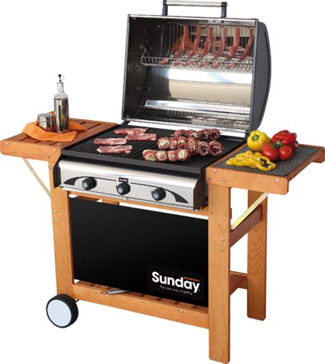 profy 3 sunday grills barbecue mcz garden
