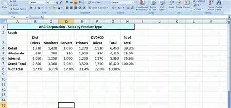 Creating Worksheet In Ms Excel Breadandhearth
