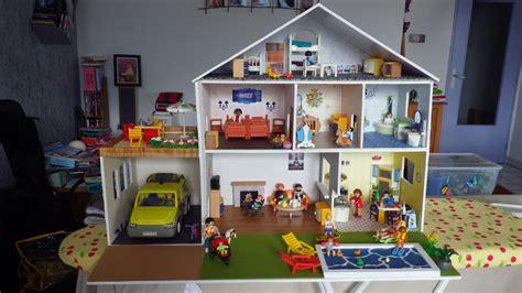 grande maison en maison moderne