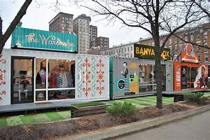 Cleveland Turns Shipping Containers Into Stores