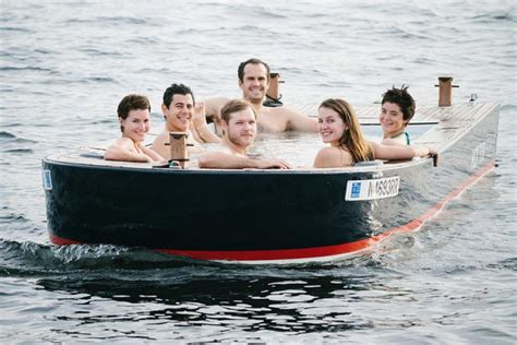 Hot Tub Boat by You Can Drive A Hot Tub Boat Around Lake Union In Seattle