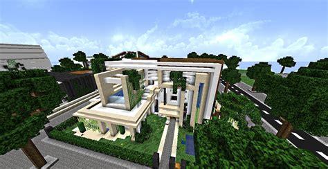 minecraft maison de luxe moderne