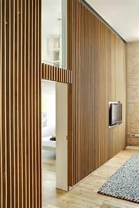 Wandverkleidung Mit Stoff : wandverkleidung aus holz 95 fantastische design ideen ~ Markanthonyermac.com Haus und Dekorationen