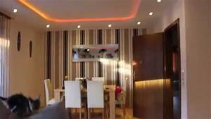 Beleuchtung Im Wohnzimmer : indirekte beleuchtung led wohnzimmer youtube ~ Markanthonyermac.com Haus und Dekorationen