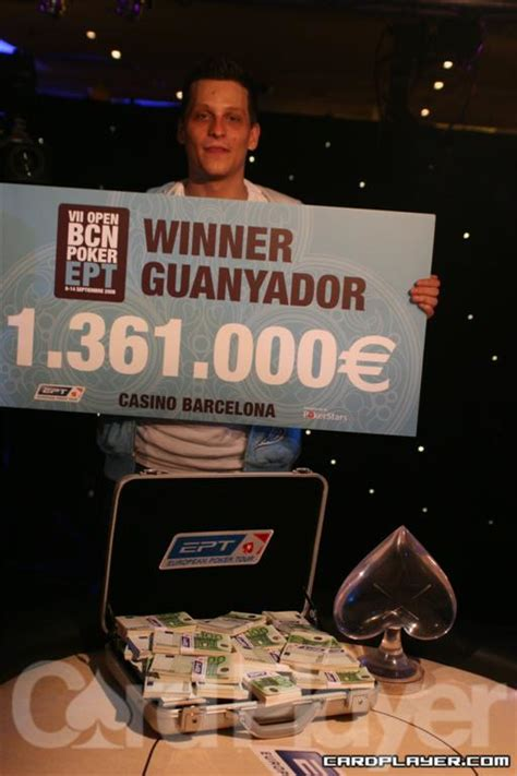 Ept Sebastian Ruthenberg Wins 2008 Barcelona Open Poker