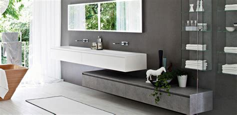 organisation meuble bas salle de bain blanc laque