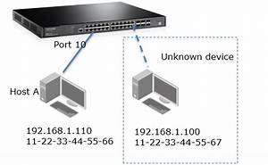 How to Block Unknown Devices to Access the Switch by Using ...